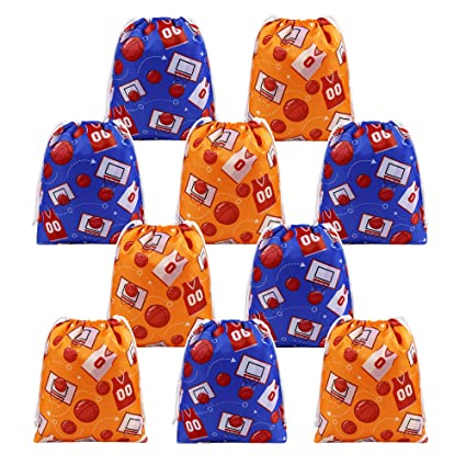 amazon com beegreen basketball party supplies favors bags