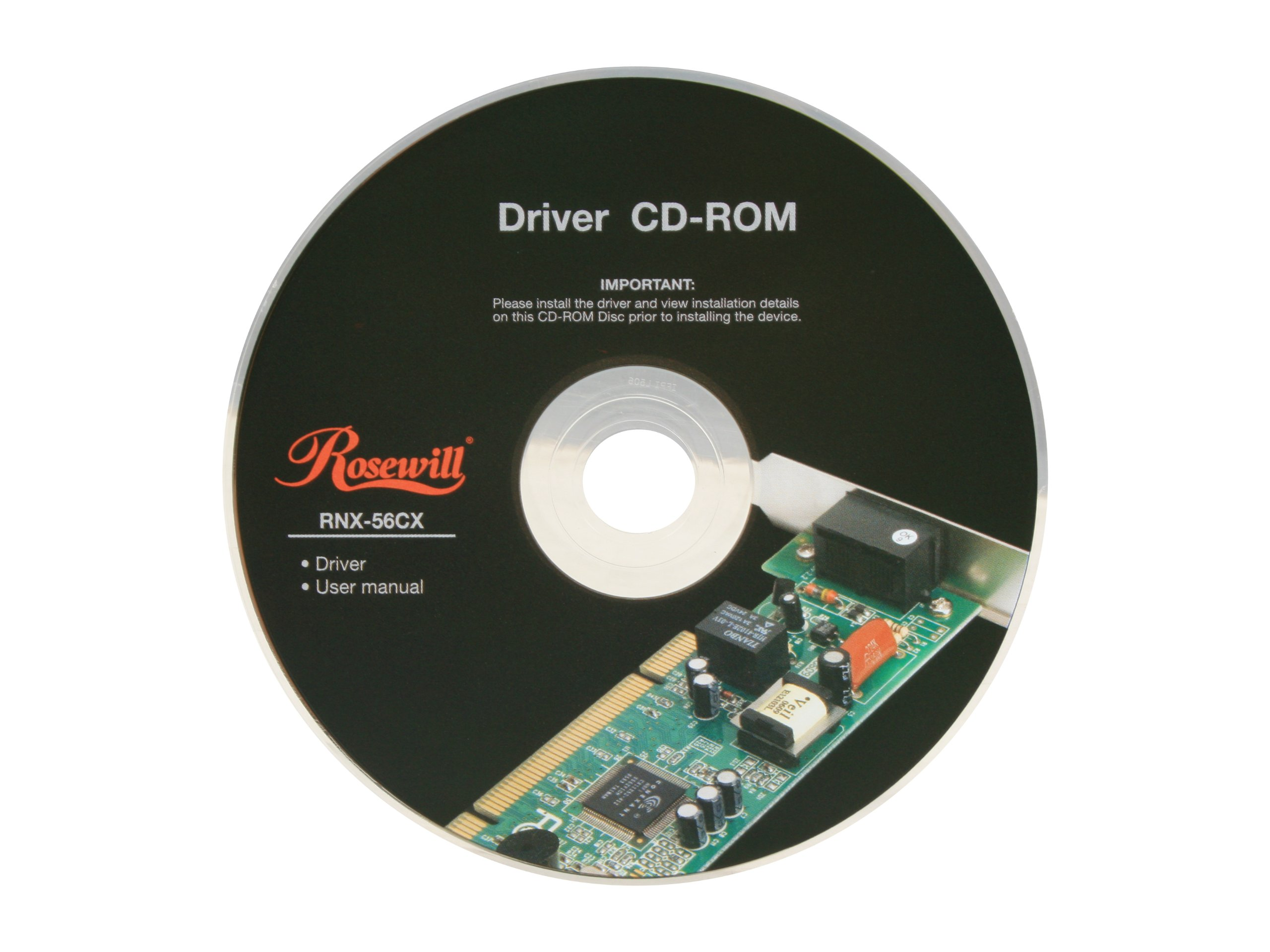 Rosewill 56Kbps PCI Internal Network Card (RNX-56CX)