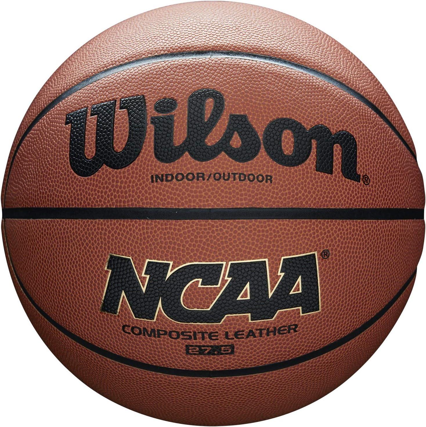 Wilson NCAA Composite Basketball 27.5 Youth