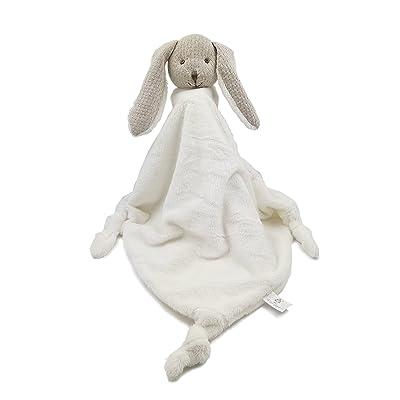 Kiyi-Gift Bebé Juguete | Juguete de Peluche de Cabeza de Conejo con Bebé Apaciguar Toalla: Juguetes y juegos