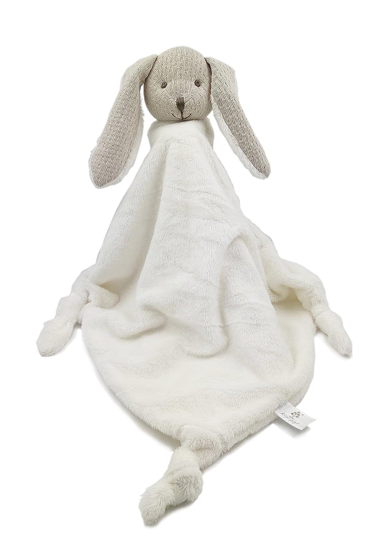 Kiyi-Gift Baby-Tröster Spielzeug | sehr weiches Kleine Kaninchen Plüschtiere mit Säugling | Baby-beschwichtigen Handtuch KY14AK3502
