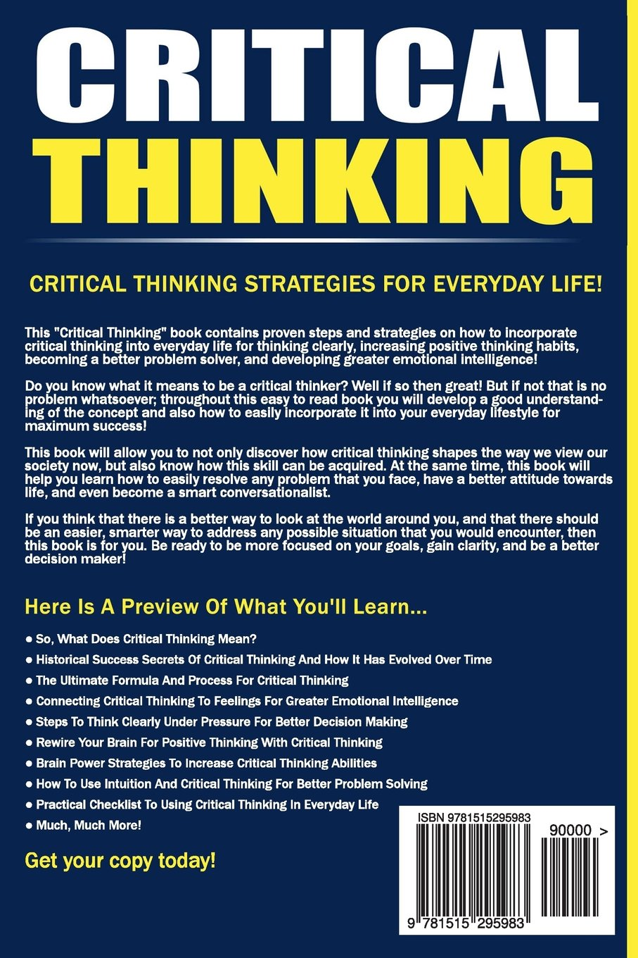 how do we use critical thinking in everyday life