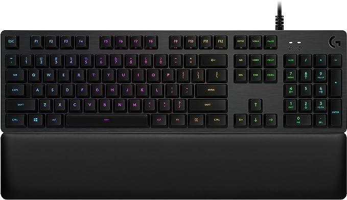 Logitech G513 RGB wired mechanical keyboard