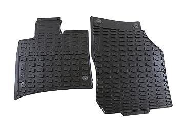 Amazoncom Genuine Audi Accessories L Black Rubber - Audi 90 car mats