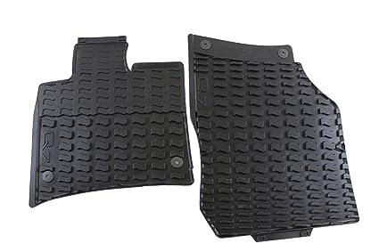 All Weather Floor Mats >> Amazon Com Audi Genuine Accessories 4l1061221041 Black Rubber Front