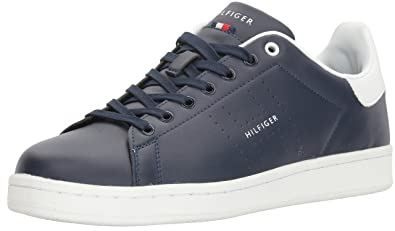 b1d42942bfee8 Tommy Hilfiger Mens Liston Sneakers Navy 15 M  Amazon.co.uk  Shoes ...