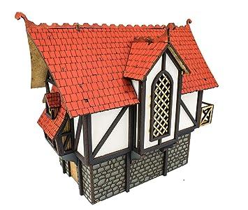 WWG Medieval Town - Casa Grande de Ciudad (Pintada/Sin ...