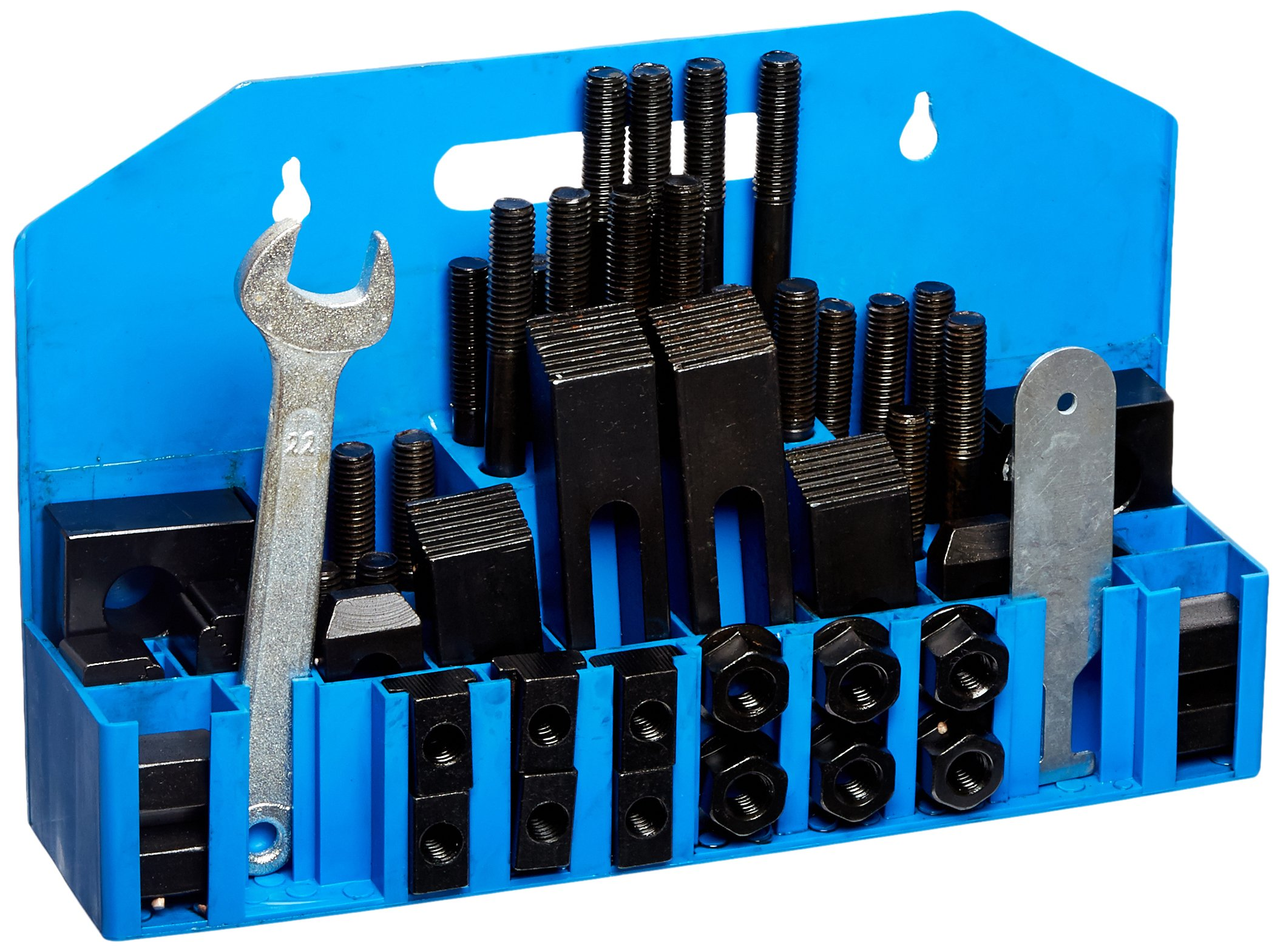 HHIP 3900-0001 58 Piece Clamping Kit (5/8 Inch T-Slot) Stud Size 1/2-13 by HHIP (Image #1)
