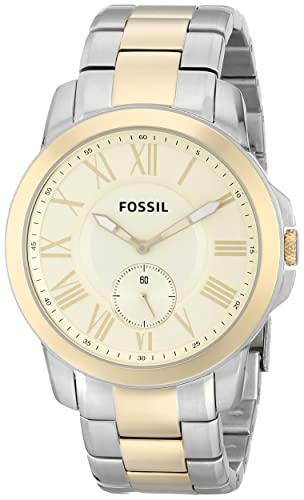 8045ca797555 Fossil FS5026 - Reloj de pulsera de acero inoxidable para hombre con correa  de eslabones