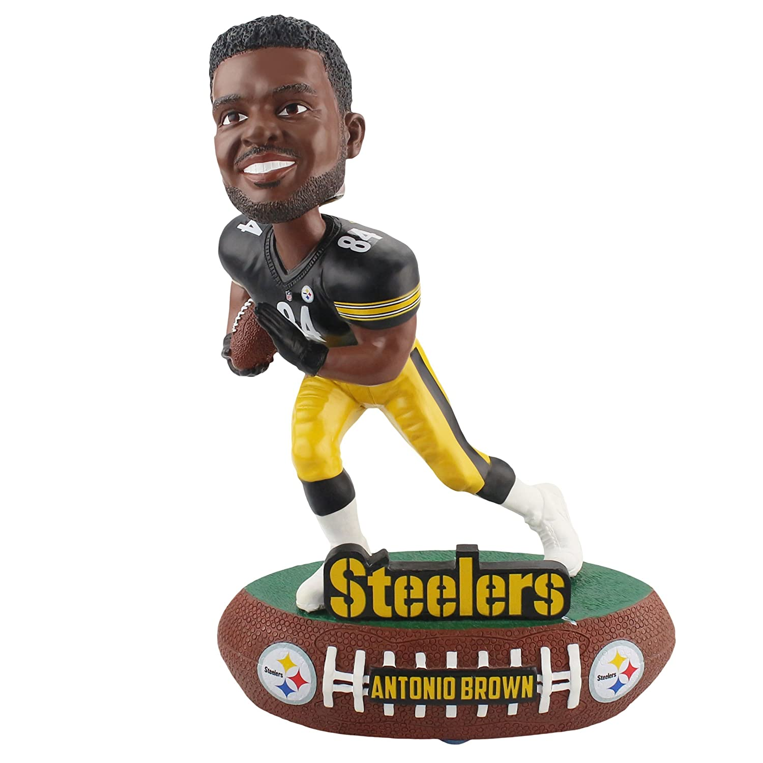 Forever Collectibles Antonio Brown Pittsburgh Steelers Baller Bobblehead NFL [Special Edition]   B076N9XFJY