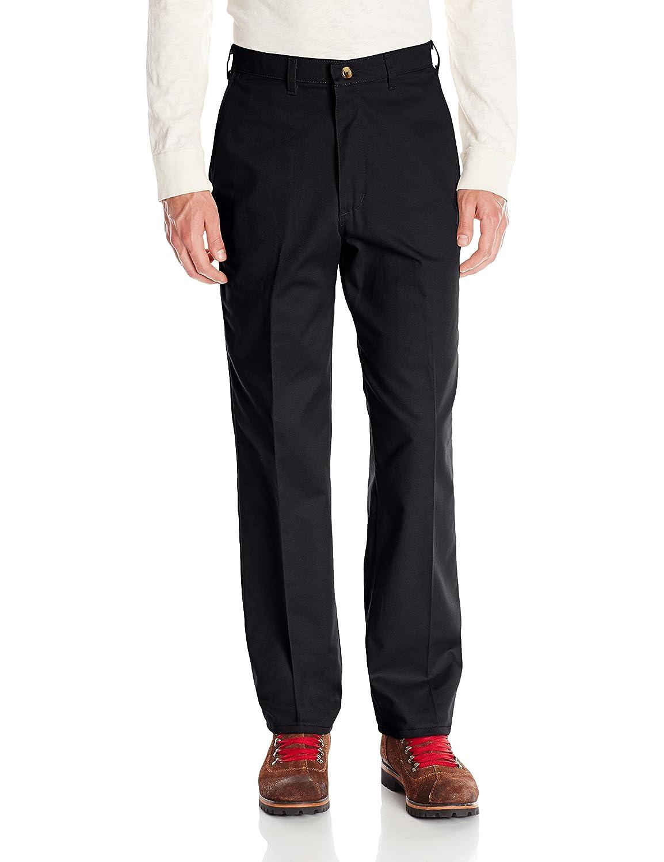 Red Kap PANTS メンズ B0058T23M6 46W x 32L|ブラック ブラック 46W x 32L