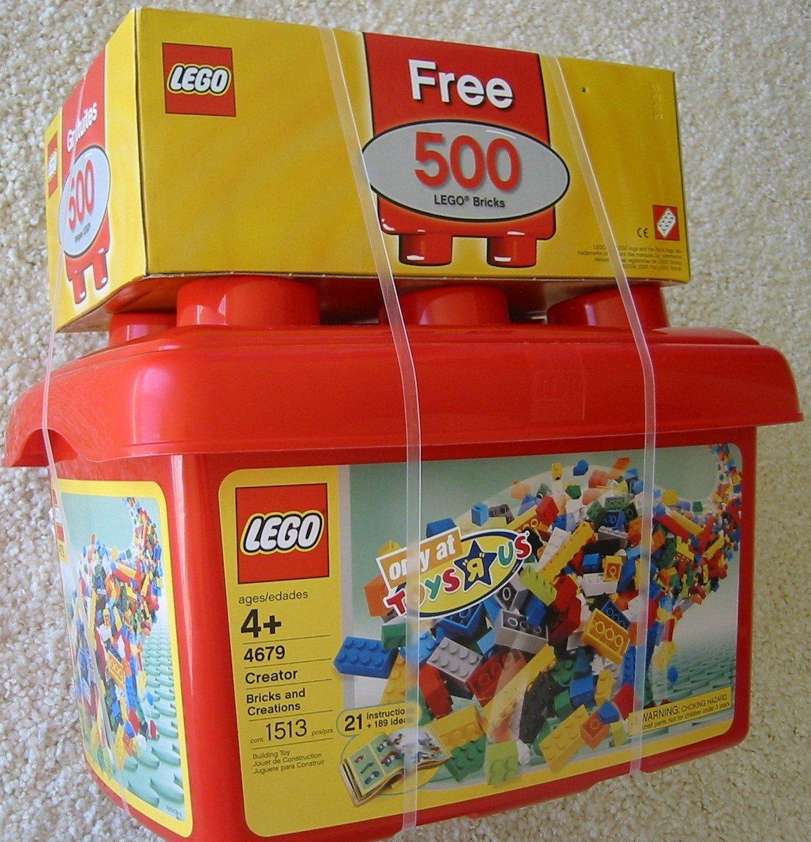 Amazon.com: LEGO Creator 4679 ladrillos y Creaciones tina ...