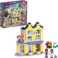 LEGO 41427 Friends Emma's modewinkel Set met Emma en Andrea Mini Poppetjes, Constructie Speelgoed voor Meisjes en…