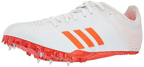 half off dead4 79c82 adidas Adizero Finesse Track Shoe, WhiteInfraredMetallicSilver, 7.5 M