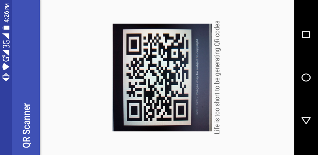 Life is too short to be generating qr codes