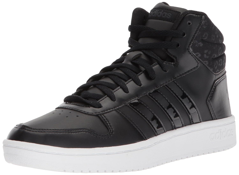 adidas Women's VS Hoops Mid 2.0 W B0711R33MH 5.5 B(M) US|Core Black/Core Black/Carbon