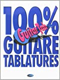 100% Guitare Tablatures Guitar Tab Book-