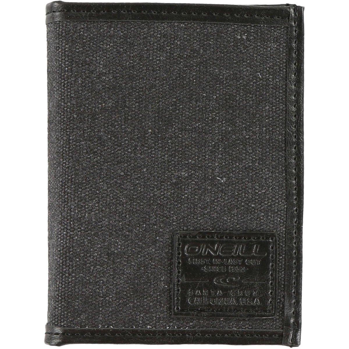 O'Neill Men's Emulating Bifold Wallet 15197002-BLK-OS