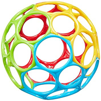 Oball Classic Ball Blue Red Green Yellow