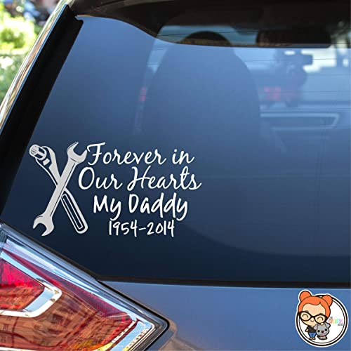 NAVY DAD Decal Vinyl Car decal Custom Made in The USA