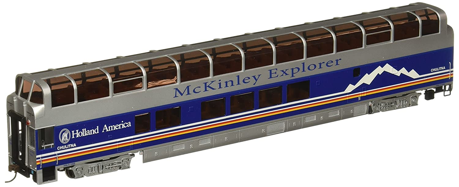 Bachmann Industries 1056 89' Colorado Railcar Full-Dome Passenger Lighted Interior Mckinley Explorer Chulitna A-Car, HO Scale 13347