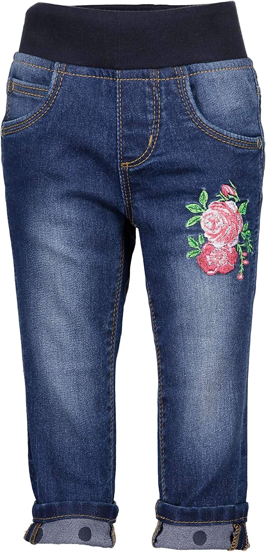 Blue Seven Baby/_Girls Vd-973508 X Jeans Blue 6-9 Months Dk Blue 570