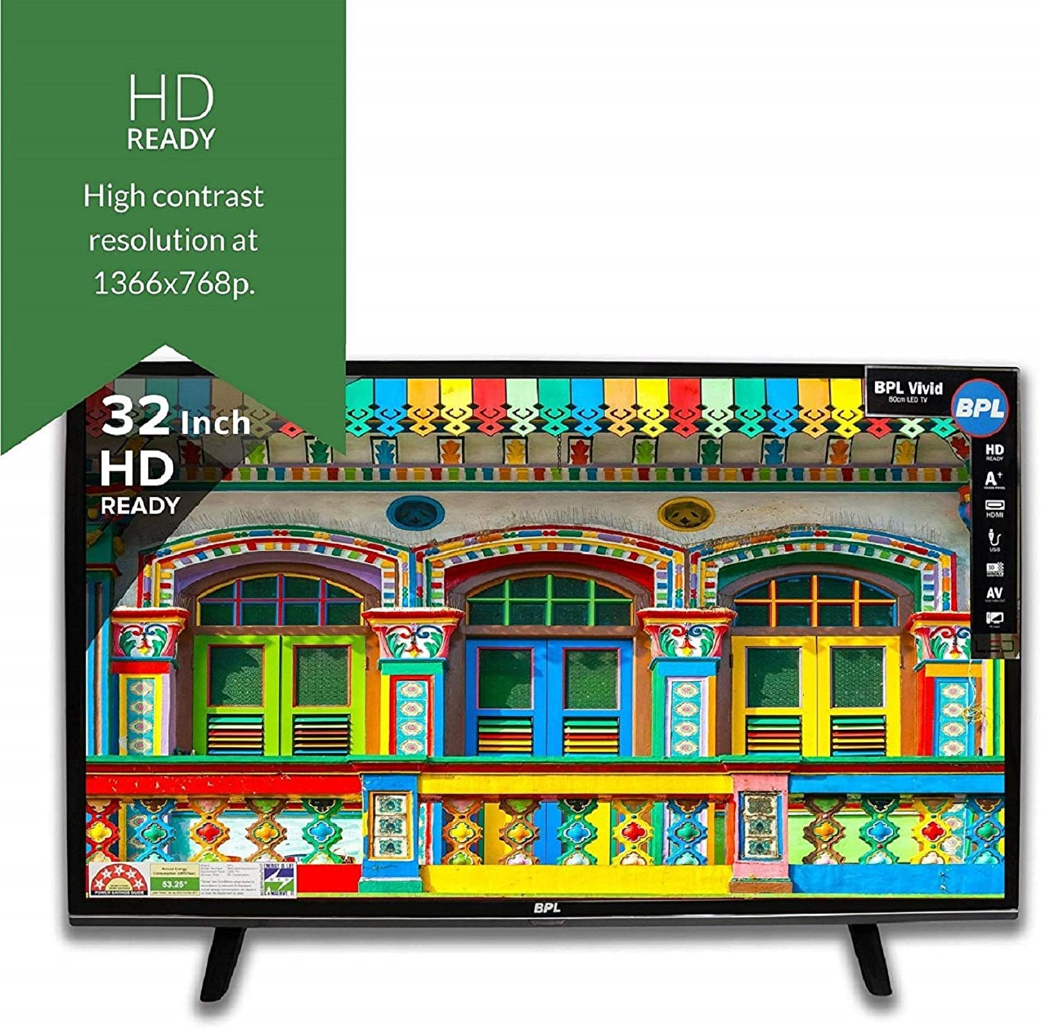 a2613b3a9 BPL 32 Inches HD Ready LED TV Price  Buy BPL 80cm Vivid HD Ready ...