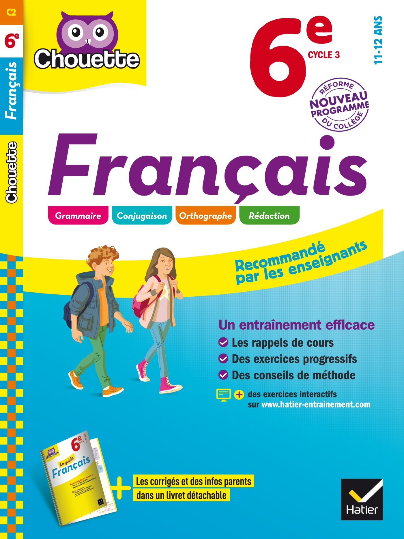 Francais 6e Cahier D Entrainement Et De Revision