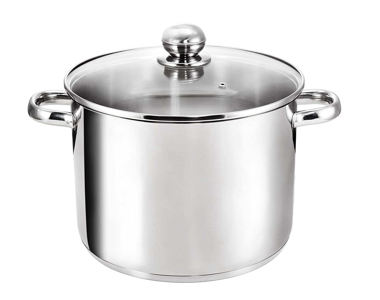 Kopf Grandis Large Cooking Pot, Stainless Steel, 9 L, D x H: 24 x 20 cm
