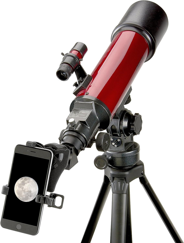 Carson Red Planet Series 25 – 56 x 80 mm Refractor Telescopio con ...
