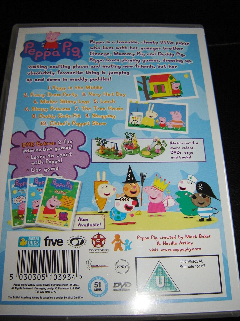 Amazon.com: Peppa Pig - Piggy In The Middle & Other Stories: Peppa Pig: Movies & TV