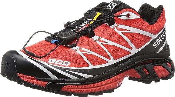 SALOMON S-Lab XT 6 Zapatilla de Trail Running Unisex, Rojo/Negro/Blanco, 39 1/3: Amazon.es: Zapatos y complementos
