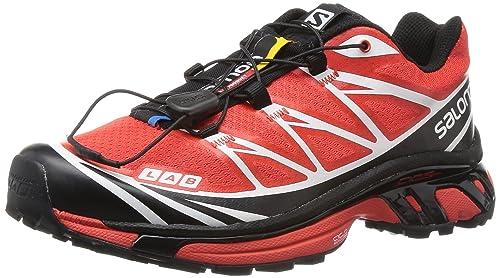 salomon s lab xt 6 trail corriendo zapatos negro