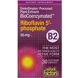 BioCoenzymated™ Riboflavin 5 Phosphate 50 mg (30 vegetarian capsules)