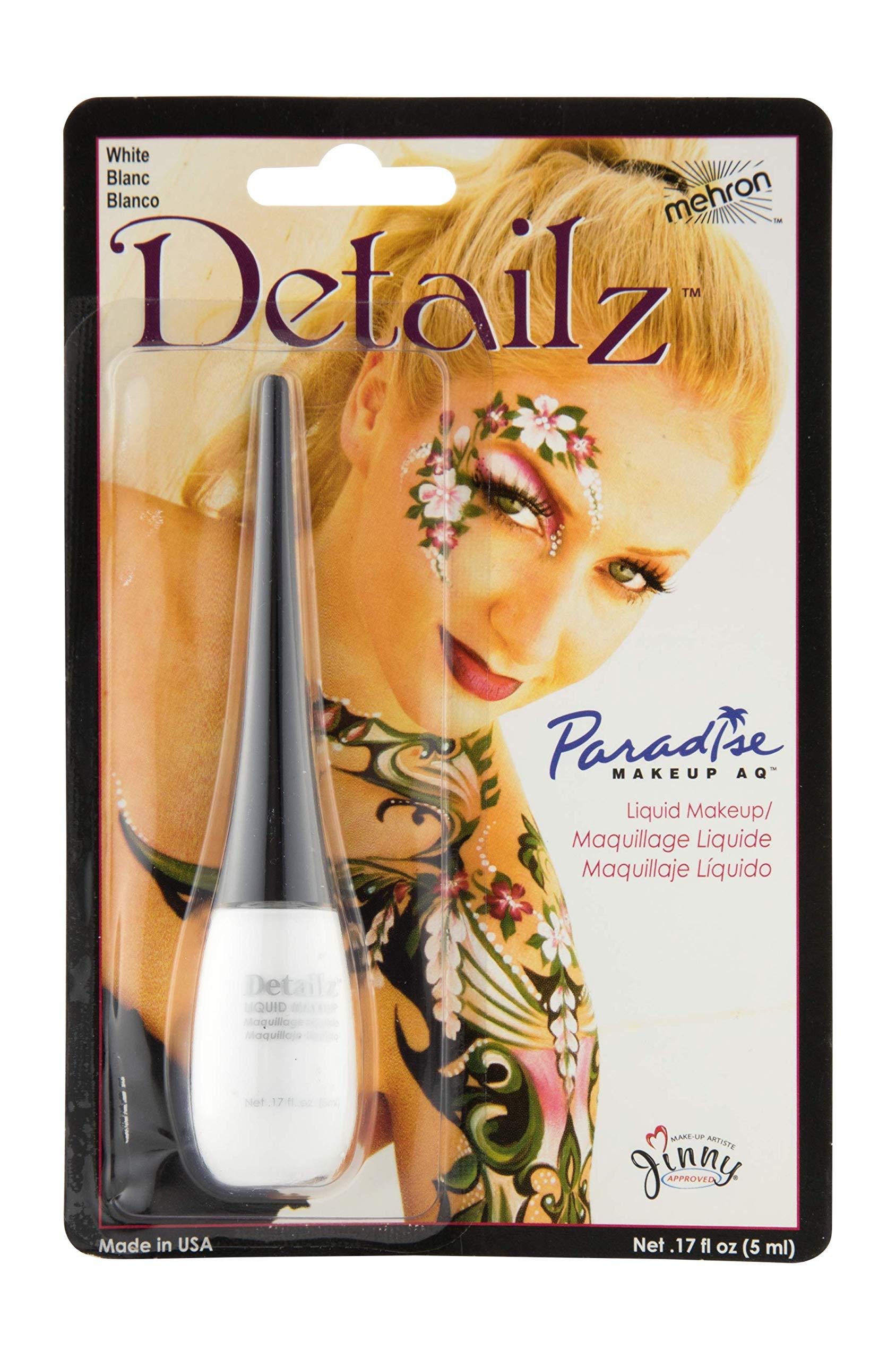 884d0e62f Amazon.com : Mehron Makeup Detailz Face & Body Paint (.17 oz) (White ...
