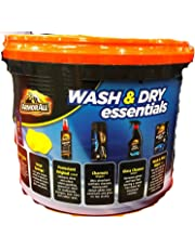 GENUINE ArmorAll Wash & Dry Essentials 6 Products & Bucket Free Super Fast Shipping!!