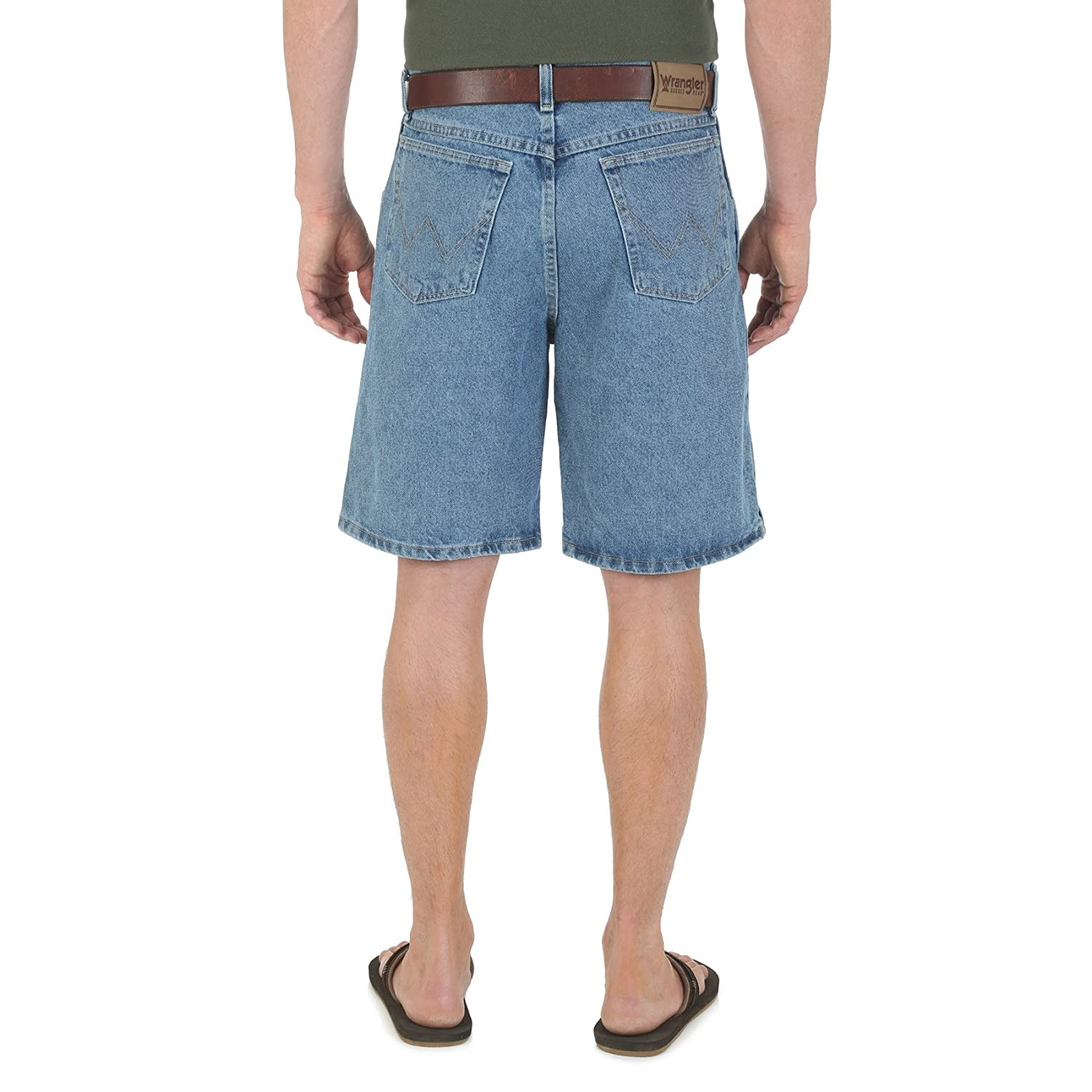 9b541bd7 Amazon.com: Wrangler Men's Rugged Wear Big & Tall Relaxed-Fit Short:  Clothing
