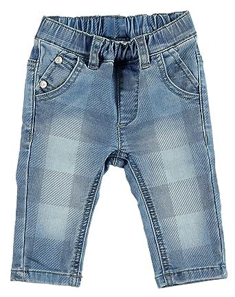 37a53305e184 Sarabanda Jungen Jeans blau in Karomuster mit Gummibund  Amazon.de ...