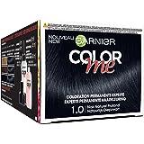 Garnier Color Me Coloration Cheveux Permanente Noir Naturel Profond 1.0 - Lot de 3