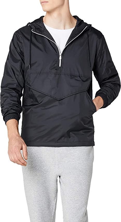 Urban Classics Herren Windbreaker Basic Pull Over Jacket
