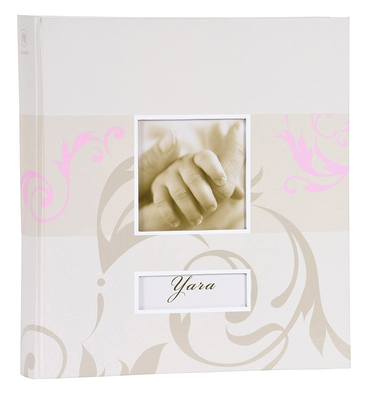 Henzo 20.032.12 Blanc album photo et protège-page - Albums photos et protèges-page (Blanc, 156 feuilles, 280 mm, 305 mm) 2003212
