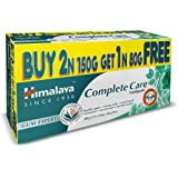 Himalaya Herbals Complete Care Toothpaste, 380g (Buy 2 of 150g and Get 1 of 80g Free)