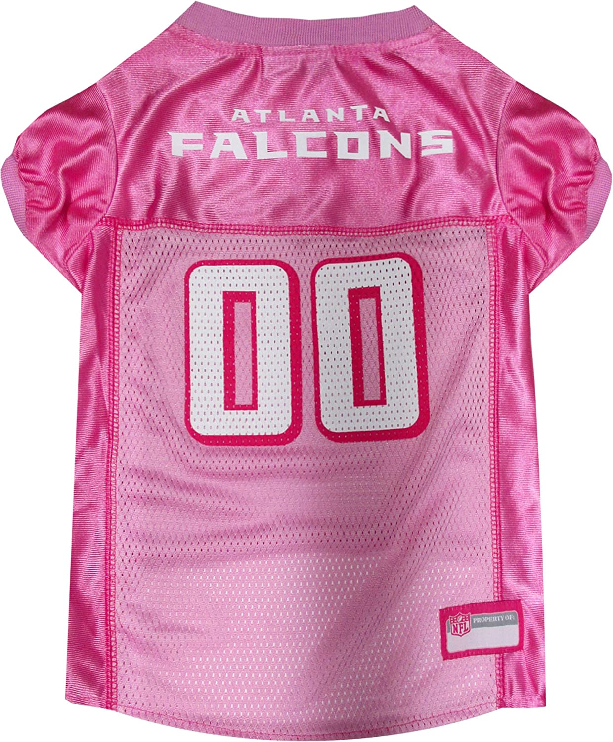 pink falcons jersey