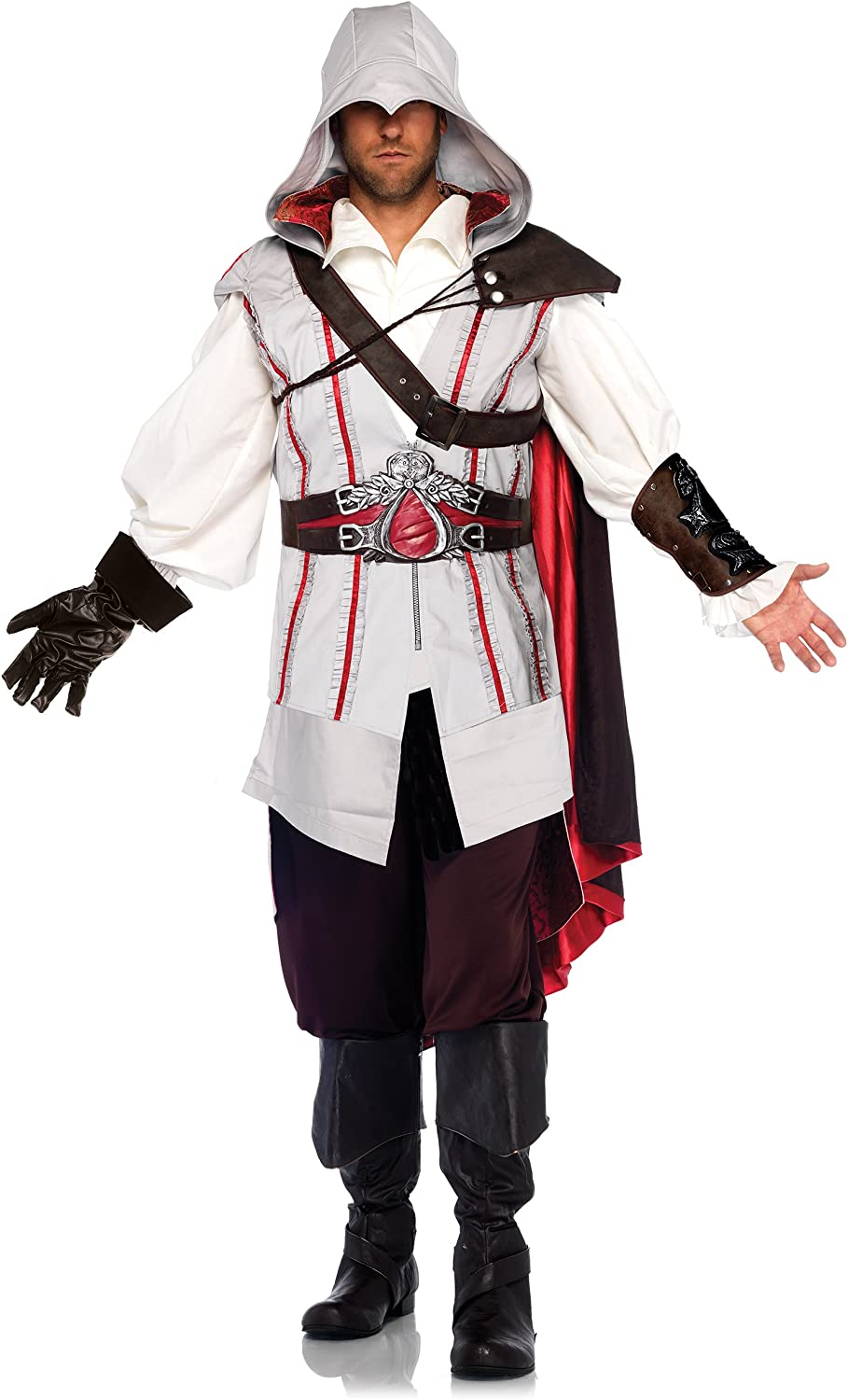 Adult Ezio From Assassin S Creed Costume Amazon Co Uk Toys Games