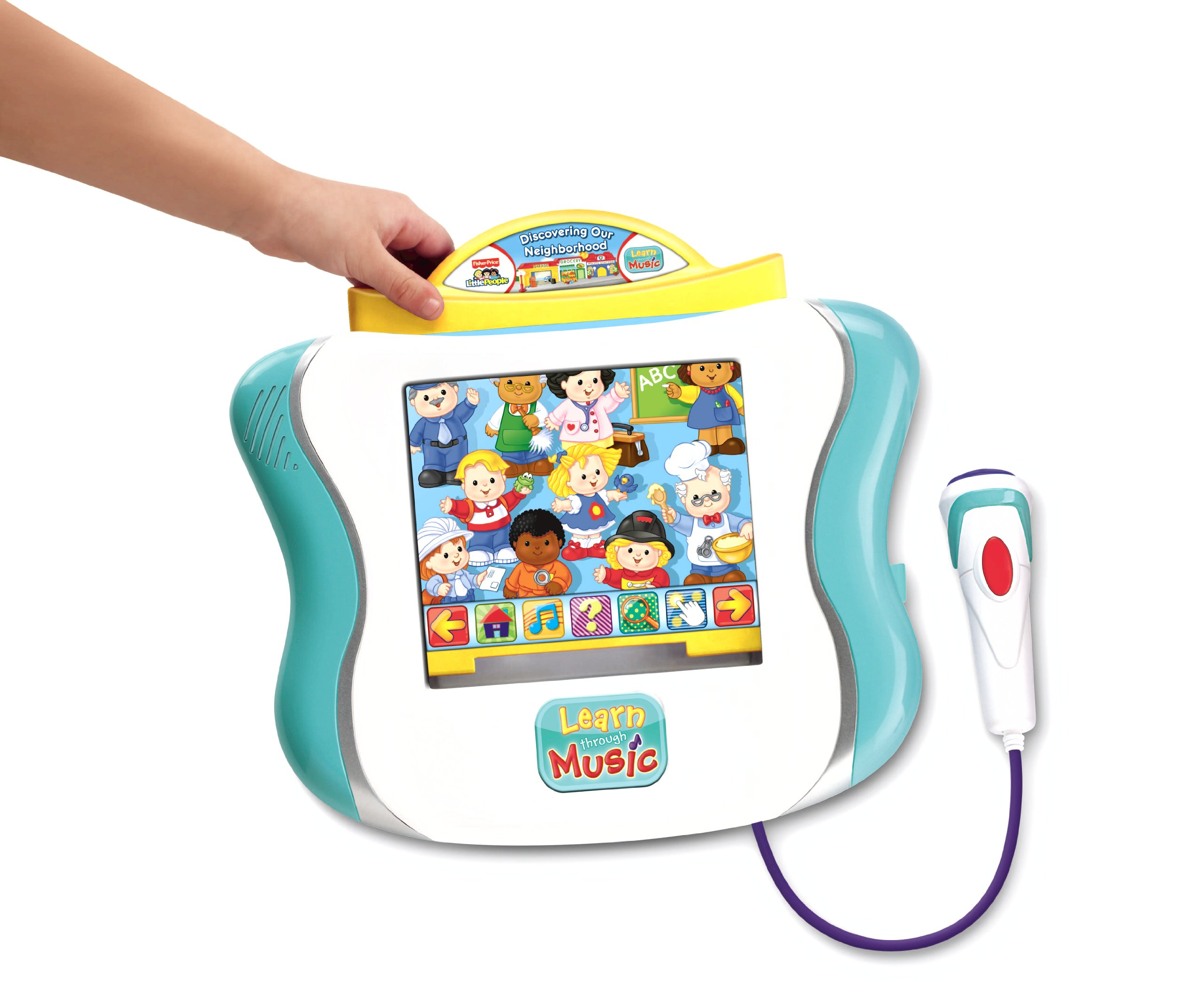 Fisher-Price Learn Through Music Touchpad Software - Little People's Discovering The Neighborhood by Fisher-Price (Image #2)