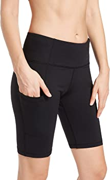 EVERNOVEL Women's Workout Shorts with Pockets (various sizes/colors)