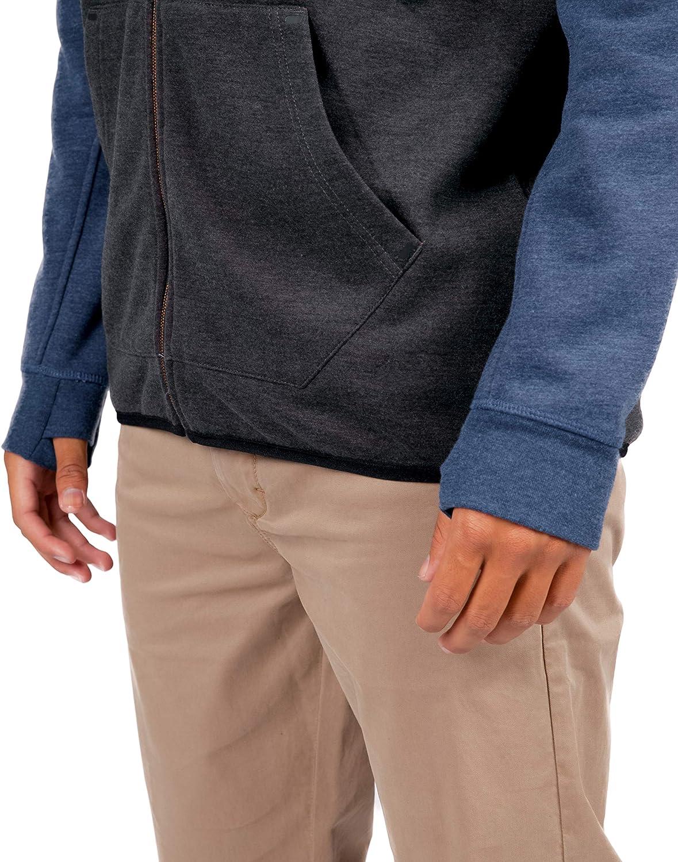 Rip Curl Men's Departed Anti Series Technical Zip Up Hooded Sweatshirt: Clothing