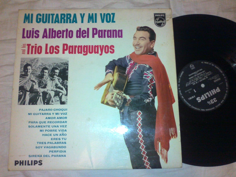 Mi Guitarra y mi Voz - Luis Alberto del Parana Trio los Paraguayos ...