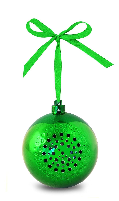 Amazon.com: Life Made Tree Tunes Christmas Ornament Bluetooth ...