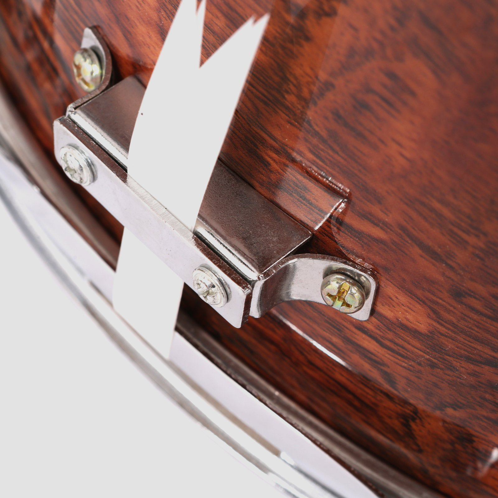 LAGRIMA Student Beginner Snare Drum W/Drum Key, Drumsticks and Strap|14x5.5 inch|Real Wood Shell|8 Metal Tuning Lugs by LAGRIMA (Image #9)
